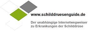 Logo www.Schilddruesenguide.de -Der unabhängige Internetwegweiser zu Erkrankungen der Schilddrüse