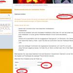 Screenshot Webseite der Deutschen Gesellschaft für Nuklearmedizin e.V.